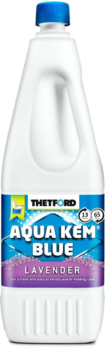 Жидкость для септиков и биотуалетов Thetford АкваКемБлю Лаванда, 2 л порошок для септиков и биотуалетов thetford для биотуалета aqua kem blue sach 12 шт