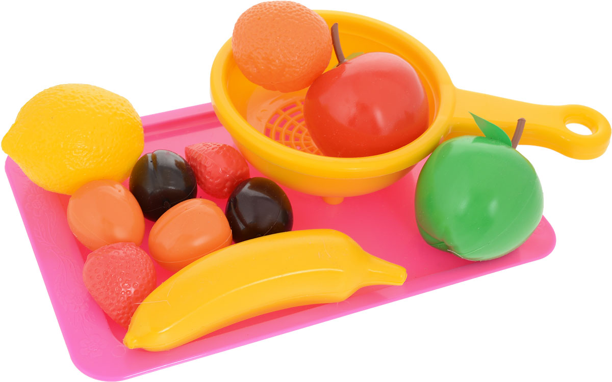 Пластмастер Игровой набор Витаминчик цвет сиреневый желтый