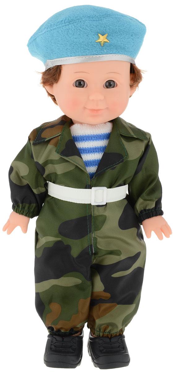 Весна Кукла Митя Военный цвет хаки зеленый голубой кукла весна 35 см