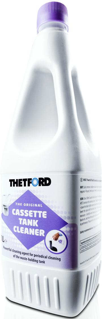 Жидкость для септиков и биотуалетов Thetford Cassete Tank Cleaner, 1 л порошок для септиков и биотуалетов thetford для биотуалета aqua kem blue sach 12 шт