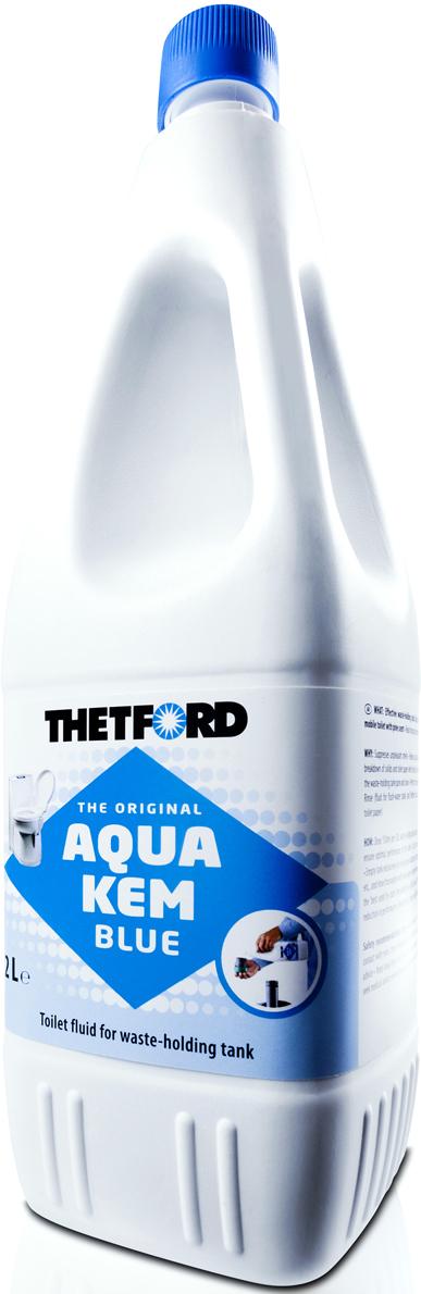 Жидкость для септиков и биотуалетов Thetford АкваКемБлю, 2 лак2 30111BG;ак2 30111BGЭффективная жидкость с приятным запахом для нижнего бака для ежедневного использования в мобильных туалетах.Жидкость содержит химически активные компоненты, уменьшает неприятные запахи , облегчает очистку, расщепляет отходы.