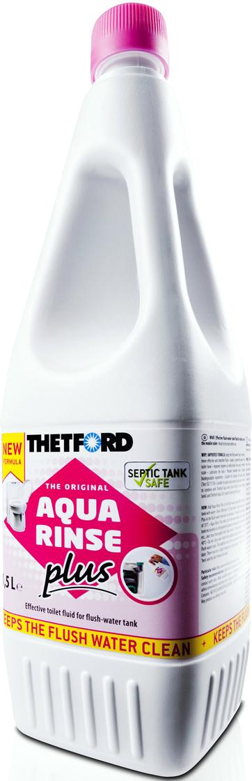 Жидкость для септиков и биотуалетов Thetford АкваРинз, 1,5 лар 30358АСЭффективная жидкость с приятным запахом лаванды для сливного бака туалетов для ежедневного использования в мобильных туалетах.УЛУЧШЕННАЯ ФОРМУЛА: Поддерживает чистоту сточной воды, обеспечивает более эффективный и ровный смыв, оставляет защитный слой на стенках унитаза, улучшает гигиену, предотвращает образование налета, смазывает уплотнения, содержит биоразлагаемые ингредиенты.