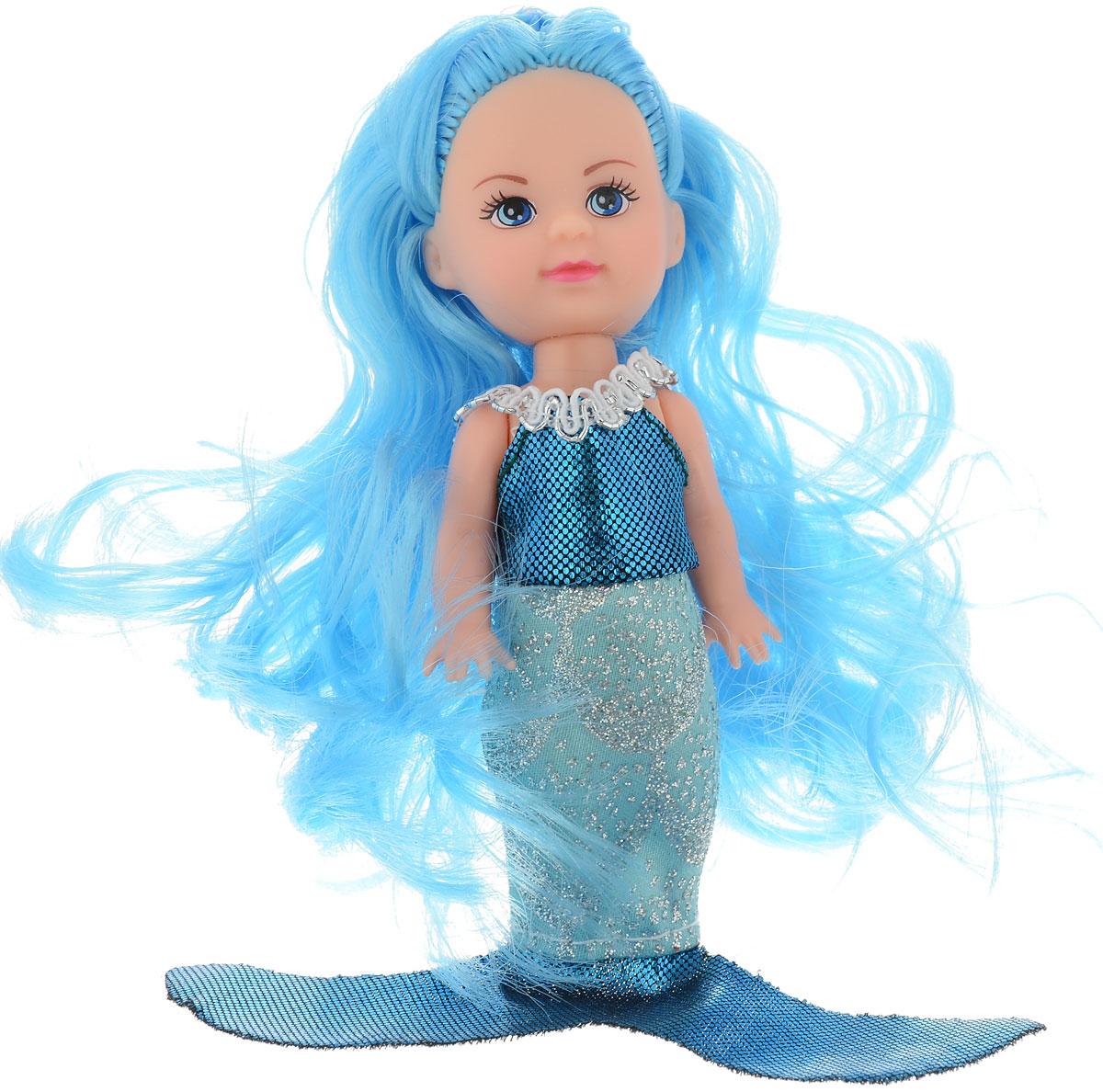 Mary Poppins Кукла Мегги Русалка цвет голубой черный