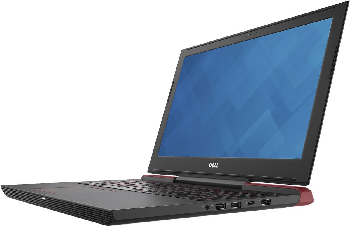 Dell Inspiron 7577-9584, Red7577-9584Dell Inspiron 7577 - 15,6-дюймовый игровой ноутбук, на котором воспроизводится изображение потрясающего качества благодаря использованию графического адаптера NVIDIA GeForce GTX 1060 и четырехъядерного процессора Intel 7-го поколения.Беспрецедентное удобство просмотра. Благодаря технологии IPS и разрешению Full HD экран вашего ноутбука станет окном в новую реальность с невероятной четкостью и изобилием цветов. Укомплектован панелями с антибликовым покрытием, которые разработаны специально для создания самых разных миров и сред.Отличный звук. Два динамика на передней панели мастерски настроены с помощью технологии Waves MaxxAudio Pro. Наслаждайтесь прекрасным звуком и почувствуйте каждый нюанс происходящего на экране.Никакого перегрева даже при высоких нагрузках. В корпусе ноутбука с агрессивным дизайном и толщиной стенок менее 1 сделаны огромные вентиляционные отверстия и установлены два кулера, что позволяет поддерживать стабильно высокую производительность системы во время воспроизведения ресурсоемких игр, а также обеспечивать ее эффективное охлаждение и низкий уровень шума.Благодаря материалам премиум-класса этот ноутбук выделяется изящностью исполнения. Жесткий корпус из магниевого сплава обеспечивает исключительную прочность устройства.Используемое в конструкции этого ноутбука крепление дисплея на одной петле предотвращает попадание выходного воздушного потока на дисплей. Такая конструкция позволила максимально увеличить объем внутреннего пространства и повысить эффективность охлаждения четырехъядерного процессора и выделенного графического адаптера.WASD-клавиатура повышенной прочности с длиной хода клавиши 1,4 мм четко реагирует на каждое нажатие.Сила и мощь виртуальной реальности. Этот ноутбук никогда не заставит вас ждать, поскольку он поставляется с поддержкой стандарта Wi-Fi 802.11ac для обеспечения высокоскоростного беспроводного соединения большого радиуса действия и технологии SmartByte для оптимизации приоритетов се