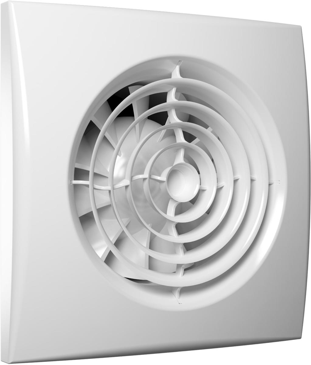 DiCiTi Aura 5C MRH вентилятор осевой вытяжнойAURA 5C MRHМалошумный осевой вытяжной декоративный вентилятор DiCiTi Aura 5C MRH с обратным клапаном, контроллеромFusion Logic 1.1 и диаметром фланца 125 мм. Автоматический обратный клапан, защищающий от обратной тяги,предотвращает проникновение запахов, влаги из вентиляционного канала. Мультирежимный контроллер FusionLogic 1.1 отвечает за режимы, время работы вентилятора и уровень влажностив вентилируемом помещении.Используется для постоянной или периодической вытяжной вентиляции санузлов, душевых, кухонь и другихбытовых помещений. Монтаж осуществляется в вентиляционные шахты или соединения с воздуховодами.Корпус и крыльчатка выполнены из высококачественного и прочного ABS-пластика, стойкого к ультрафиолету.Конструкция крыльчатки позволяет повысить эффективность вентилятора и срок службы двигателя.Установлен двигатель на шарикоподшипниках с увеличенным сроком службы (до 40 000 рабочих часов) и низкимэнергопотреблением. Оснащен защитой от перегрева.