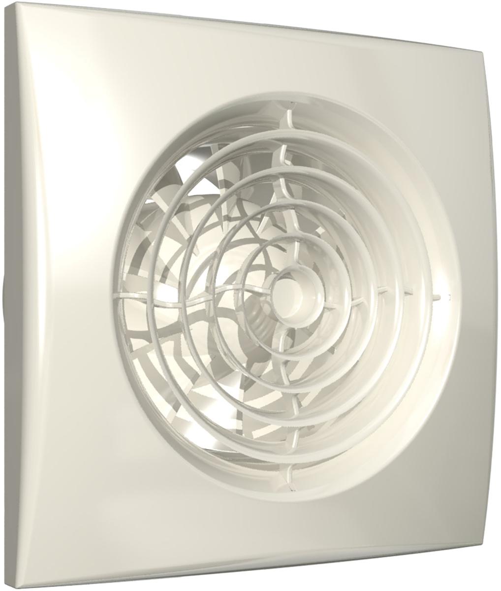 DiCiTi Aura 5 Ivory вентилятор осевой вытяжнойAURA 5 IvoryМалошумный осевой вытяжной декоративный вентилятор DiCiTi Aura 5 Ivory с низким энергопотреблением идиаметром фланца 125 мм. Станет как оригинальным дополнением, так и ярким акцентом в интерьере любыхкомнат и помещений.Используется для постоянной или периодической вытяжной вентиляции санузлов, душевых, кухонь и другихбытовых помещений. Монтаж осуществляется в вентиляционные шахты или соединения с воздуховодами.Корпус и крыльчатка выполнены из высококачественного и прочного ABS-пластика, стойкого к ультрафиолету.Конструкция крыльчатки позволяет повысить эффективность вентилятора и срок службы двигателя.Установлен двигатель на шарикоподшипниках с увеличенным сроком службы (до 40 000 рабочих часов) и низкимэнергопотреблением. Оснащен защитой от перегрева.