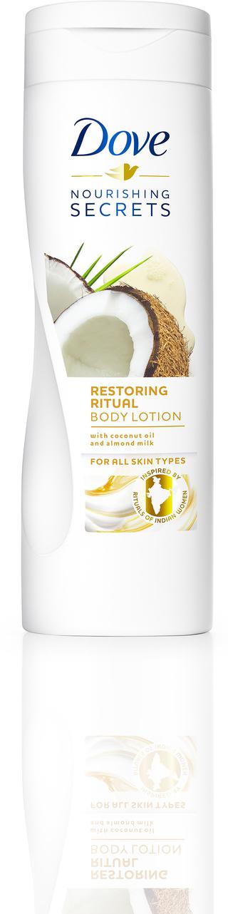 Dove Лосьон для тела восстанавливающий с кокосовым маслом и миндальным молочком, 250 мл - Косметика по уходу за кожей