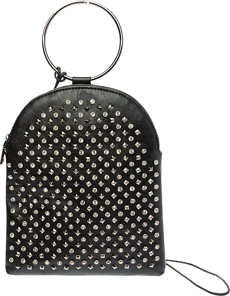 Рюкзак женский Keddo, цвет: черный. 387106/02-01387106/02-01Стильный рюкзак Keddo является отличным решением для любого гардероба. Внешний вид рюкзака основательно продуман. Все части аккуратно выбраны и удачно дополняют друг друга. Рюкзак Keddo замечательно дополнит ваш стиль и преподнесет вас в выгодной позиции и в офисе и в кино. Эта вещь станет замечательным подарком себе или родным.Рюкзак выполнен из экокожи, застегивается на молнию. Изделие декорировано металлическими клепками. Рюкзак оснащен металлической петлей для подвешивания.
