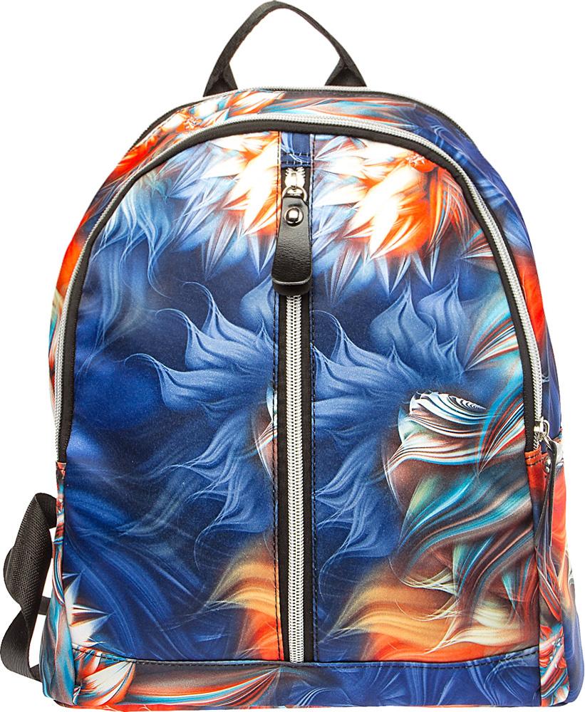 Рюкзак подростковый Keddo, цвет: синий. 387107/01-02387107/01-02Подростковый рюкзак Keddo выполнен из нейлона.Модель закрывается на молнию. Спередиодин большой карман на застежке-молнии. Внутри рюкзака вы с легкостью сможете расположитьсвой сотовый телефон и другие мелочи с помощью удобных карманов.Рюкзак оснащенрегулируемыми плечевыми лямками и короткой ручкой.Стильный рюкзак Keddo прекраснодополнит ваш образ.