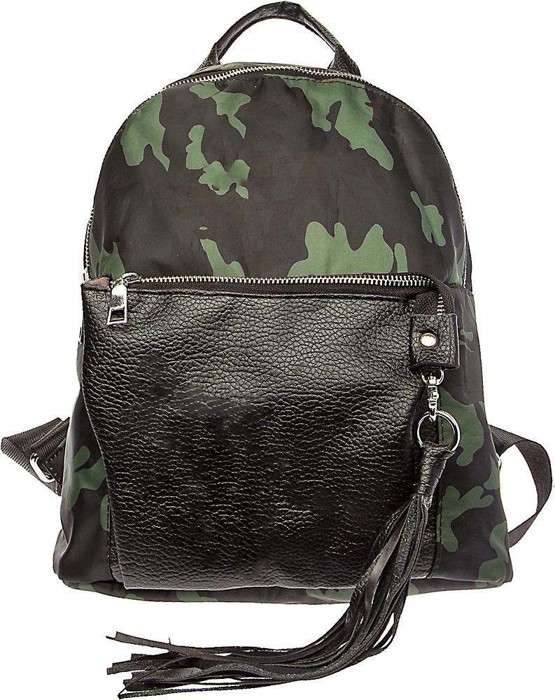 Рюкзак подростковый Keddo, цвет: черный, хаки. 387117/05-02 сотовый