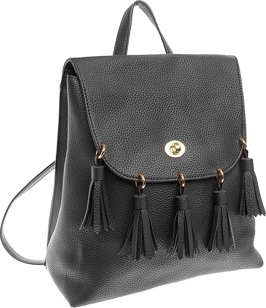 Рюкзак женский Keddo, цвет: черный. 387125/01-01