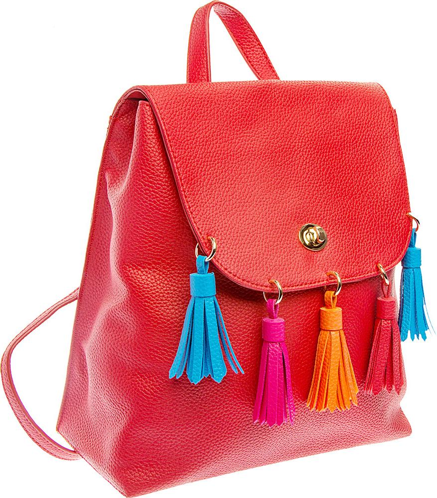 Рюкзак женский Keddo, цвет: красный. 387125/01-02 пике женский ml2570 02 красный