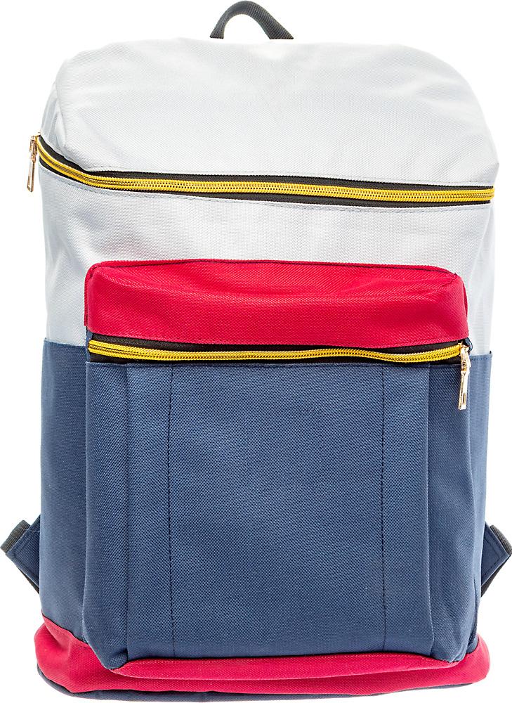 Рюкзак женский Keddo, цвет: синий, красный. 387156/02-04
