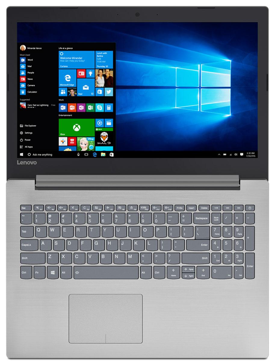 Lenovo IdeaPad 320, Platinum Grey (80XW0001RK)80XW0001RKLenovo IdeaPad 320 17,3 HD+/ A4-9120/ 4Gb/ 1TB/ R3/ DVD-RW/ WiFi/ BT/ Windows 10/ Platinum Grey