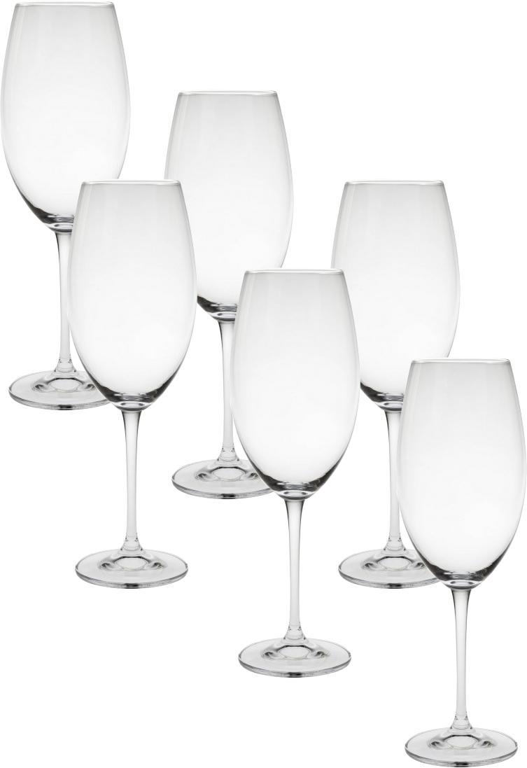 Набор бокалов для вина Crystalite Bohemia Эста, 400 мл, 6 шт1SF86`400Самая продаваемая форма бокалов Отличный подарок! Безусловный хит продаж! Выдувное стекло