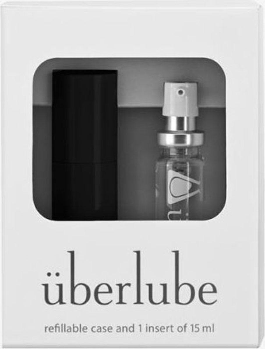 Uberlube Лубрикант Good-To-Go цвет: черный, 15 мл uberlube лубрикант универсальный 100 мл