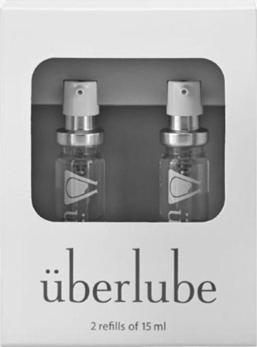 Uberlube Набор Лубрикантов Good-To-Go, 2 шт, 15 мл гибкий вибростимулятор coco violet фиолетовый