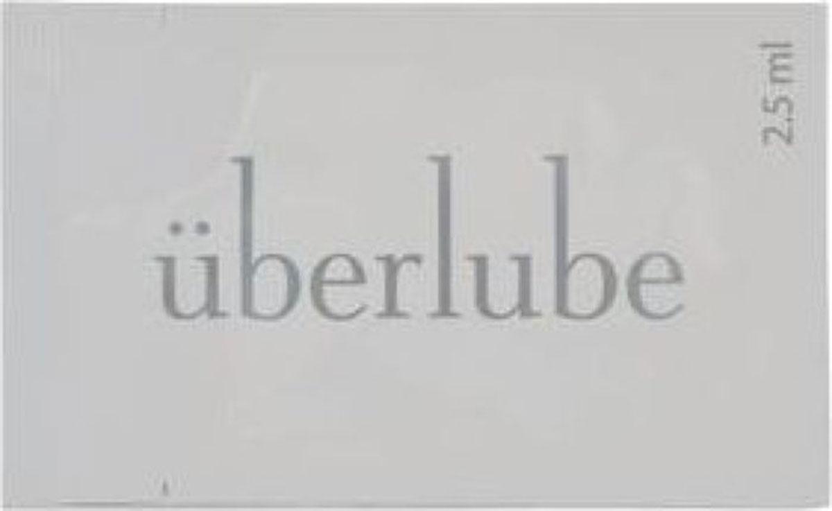 Uberlube Лубрикант на силиконовой основе, 2,5 мл system jo premium jelly light 120 мл концентрированный лубрикант на силиконовой основе легкая текстура