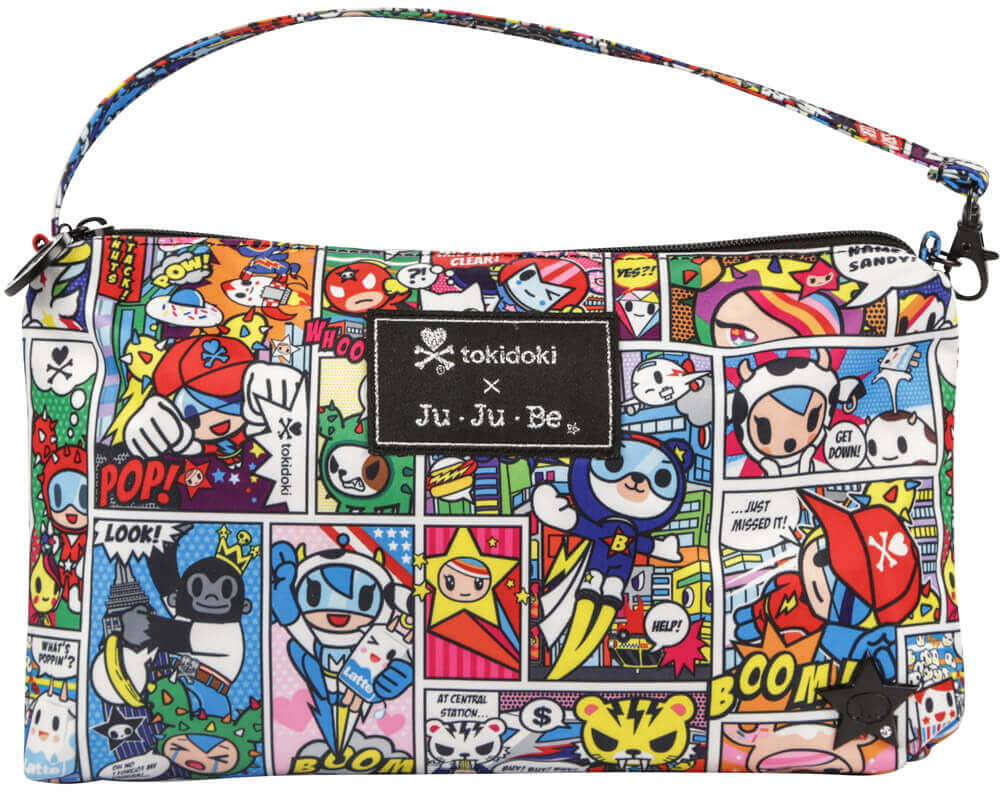 Ju-Ju-Be Сумка для мамы Be Quick цвет синий розовый 06AA10T-9601