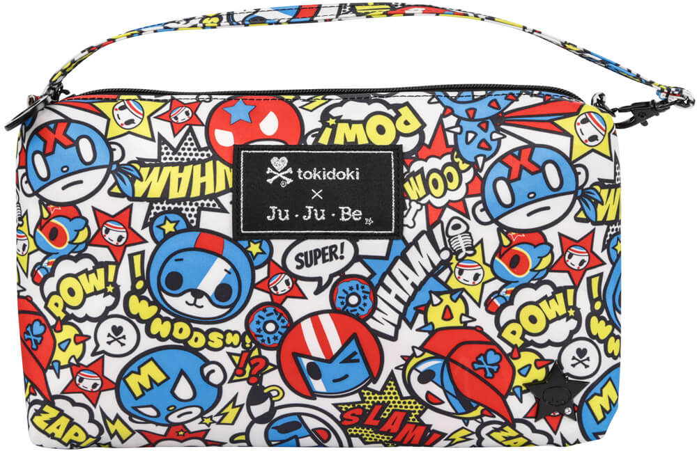 Ju-Ju-Be Сумка для мамы Be Quick цвет синий красный 06AA10T-9618