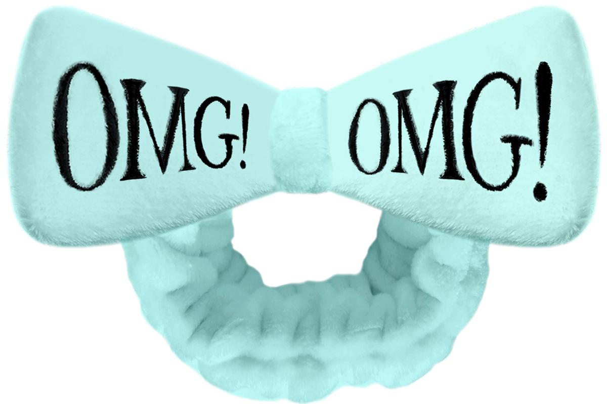Double Dare OMG! Бант-повязка для фиксации волос во время косметических процедур, цвет: мятный резинки bloomy праздничная повязка для волос золотой бант