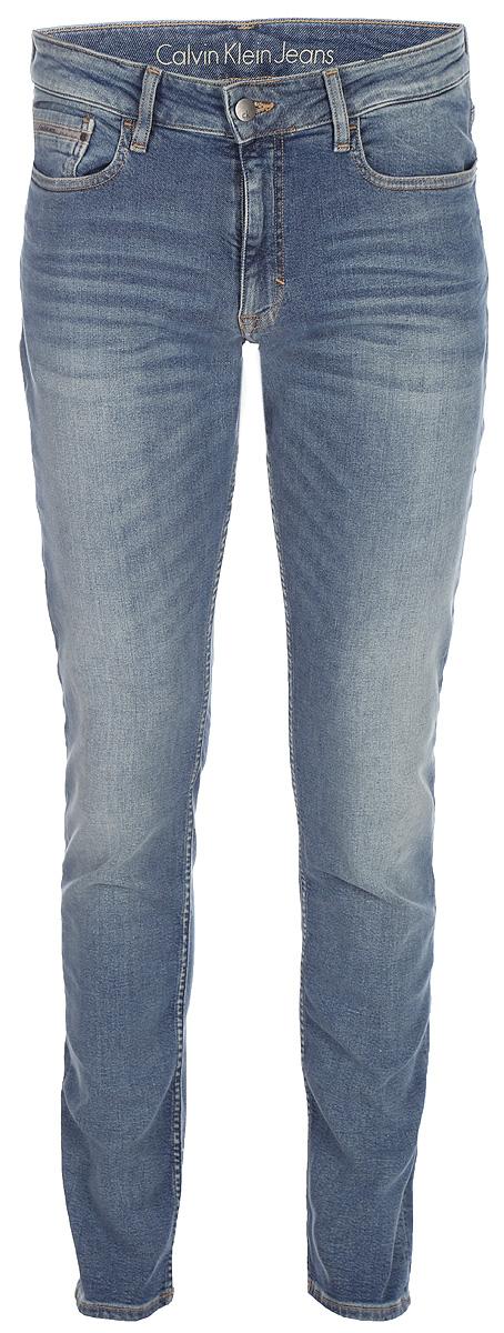 Джинсы мужские Calvin Klein Jeans, цвет: синий. J30J306287_9114. Размер 30-34 (46-34)J30J306287_9114