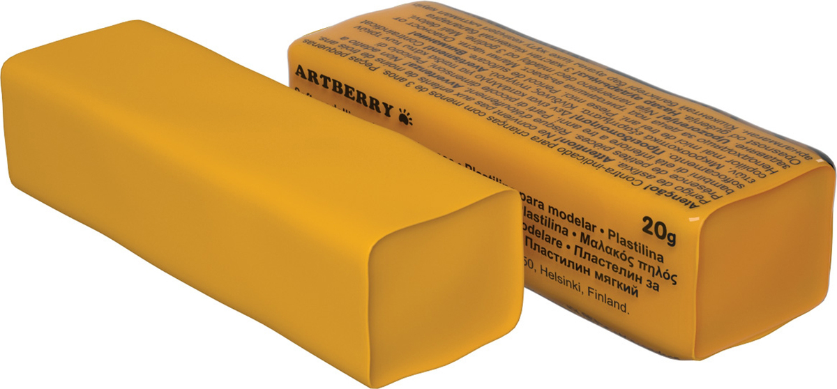 Erich Krause Пластилин мягкий Art Berry цвет оранжевый37286Мягкий пластилин безопасный и очень практичный материал для лепки, который идеально подходит для детей от 3 лет. Он не застывает на воздухе, не прилипает к рукам, не пачкает одежду. По сравнению с обычным школьным пластилином мягкий пластилин имеет более низкую температуру плав ления, что делает его исключительно удобным и податливым. Яркие и сочные цвета легко смешиваются между собой. Пластичная структура позволяет детям использовать его в технике рисования пластилином.Разноцветные брусочки мягкого пластилина весом 20г имеют индивидуальную упаковку со штрихкодом.