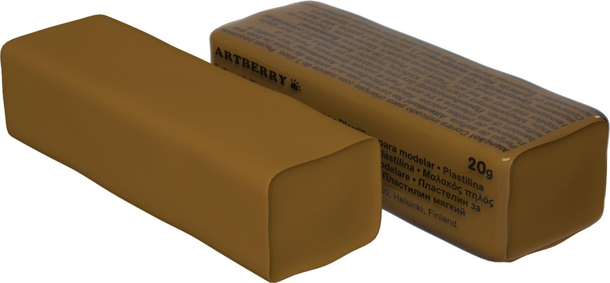 Erich Krause Пластилин мягкий Art Berry цвет коричневый37287Мягкий пластилин безопасный и очень практичный материал для лепки, который идеально подходит для детей от 3 лет. Он не застывает на воздухе, не прилипает к рукам, не пачкает одежду. По сравнению с обычным школьным пластилином мягкий пластилин имеет более низкую температуру плавления, что делает его исключительно удобным и податливым. Яркие и сочные цвета легко смешиваются между собой. Пластичная структура позволяет детям использовать его в технике рисования пластилином.Разноцветные брусочки мягкого пластилина весом 20г имеют индивидуальную упаковку.