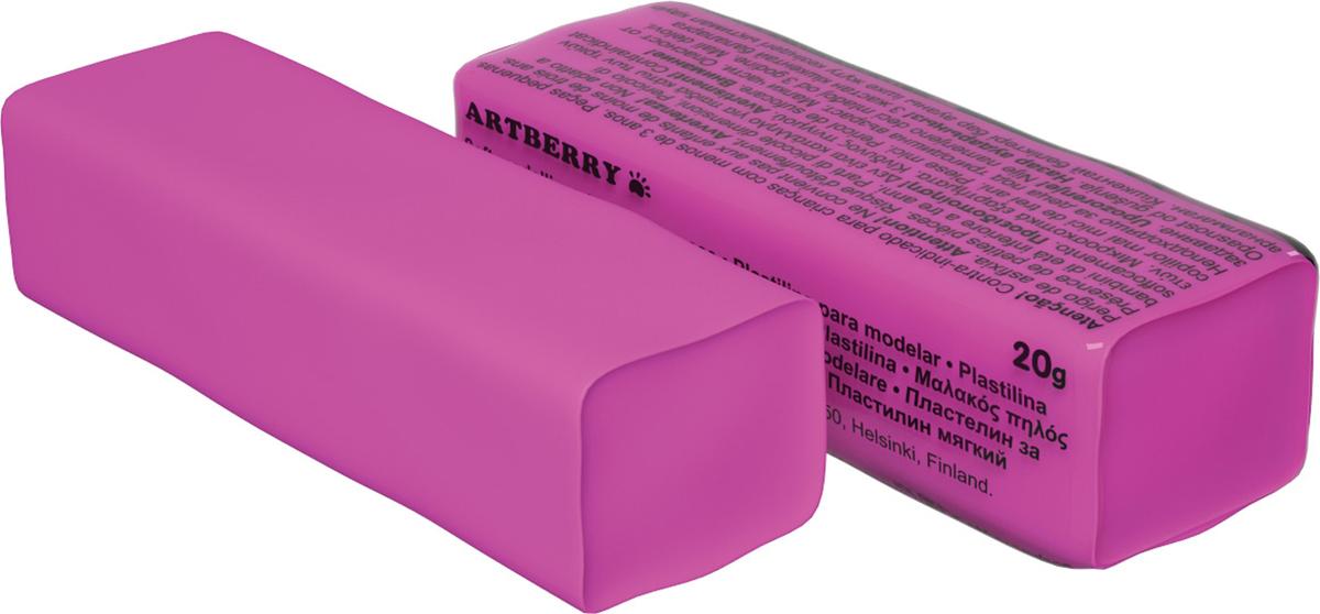Erich Krause Пластилин мягкий Art Berry цвет розовый37288Мягкий пластилин безопасный и очень практичный материал для лепки, который идеально подходит для детей от 3 лет. Он не застывает на воздухе, не прилипает к рукам, не пачкает одежду. По сравнению с обычным школьным пластилином мягкий пластилин имеет более низкую температуру плавления, что делает его исключительно удобным и податливым. Яркие и сочные цвета легко смешиваются между собой. Пластичная структура позволяет детям использовать его в технике рисования пластилином.Разноцветные брусочки мягкого пластилина весом 20г имеют индивидуальную упаковку.