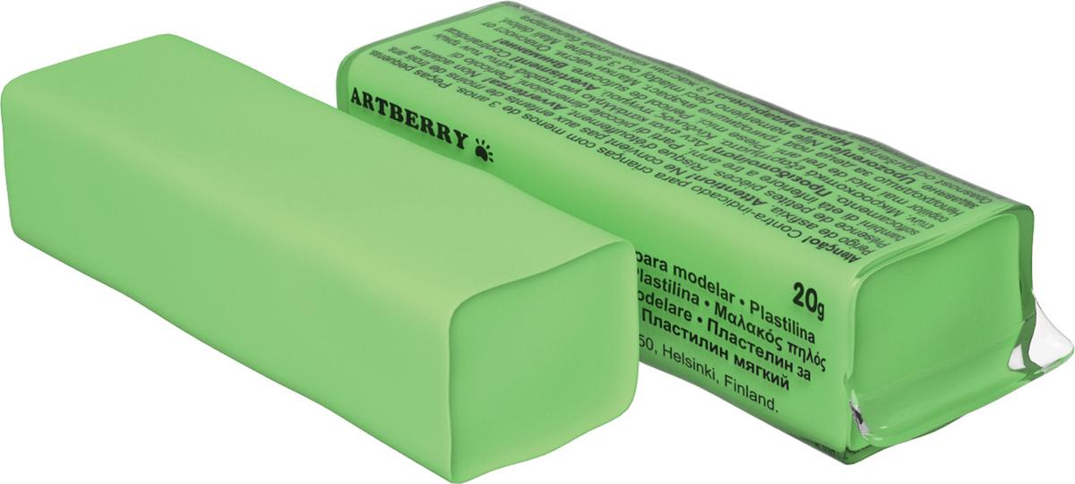 Erich Krause Пластилин мягкий Art Berry цвет светло-зеленый37290Мягкий пластилин безопасный и очень практичный материал для лепки, который идеально подходит для детей от 3 лет. Он не застывает на воздухе, не прилипает к рукам, не пачкает одежду. По сравнению с обычным школьным пластилином мягкий пластилин имеет более низкую температуру плав ления, что делает его исключительно удобным и податливым. Яркие и сочные цвета легко смешиваются между собой. Пластичная структура позволяет детям использовать его в технике рисования пластилином.Разноцветные брусочки мягкого пластилина весом 20г имеют индивидуальную упаковку со штрихкодом.