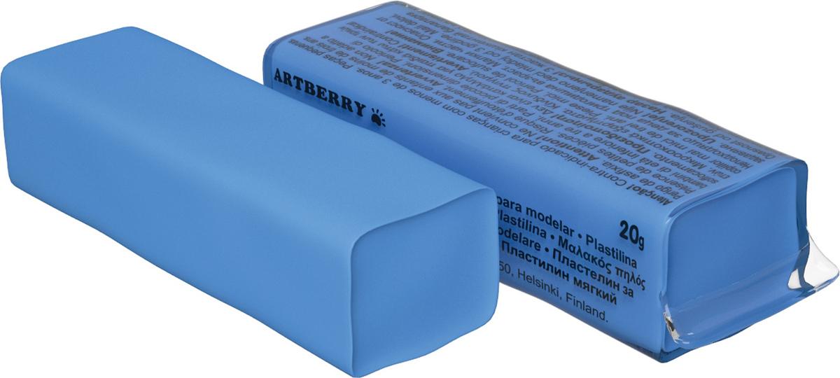 Erich Krause Пластилин мягкий Art Berry цвет голубой37291Мягкий пластилин безопасный и очень практичный материал для лепки, который идеально подходит для детей от 3 лет. Он не застывает на воздухе, не прилипает к рукам, не пачкает одежду. По сравнению с обычным школьным пластилином мягкий пластилин имеет более низкую температуру плав ления, что делает его исключительно удобным и податливым. Яркие и сочные цвета легко смешиваются между собой. Пластичная структура позволяет детям использовать его в технике рисования пластилином.Разноцветные брусочки мягкого пластилина весом 20г имеют индивидуальную упаковку со штрихкодом.