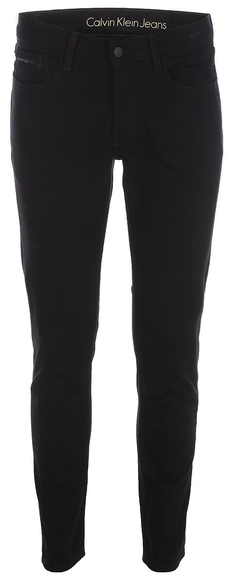 Джинсы мужские Calvin Klein Jeans, цвет: черный. J30J306875_9113. Размер 32-32 (48/50-32)J30J306875_9113