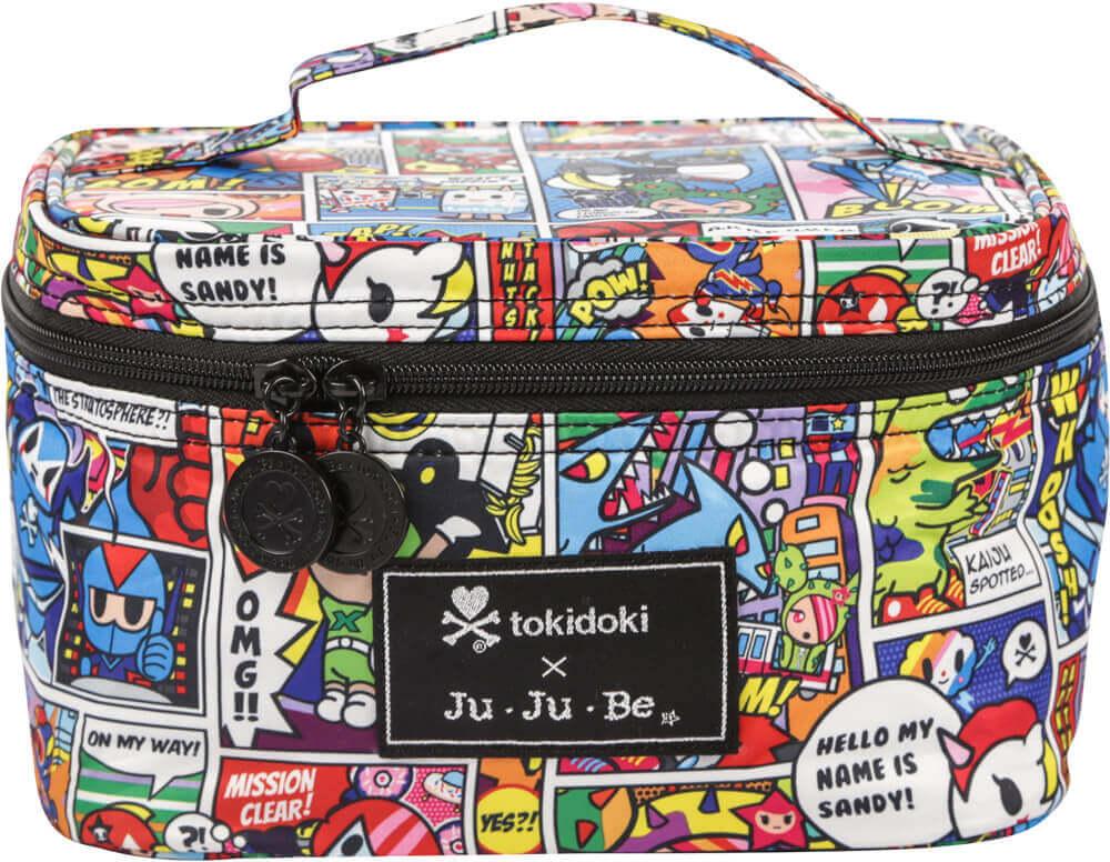 Ju-Ju-Be Сумка-бьюти кейс для мамы Be Ready цвет синий розовый 15TC01AT-9861