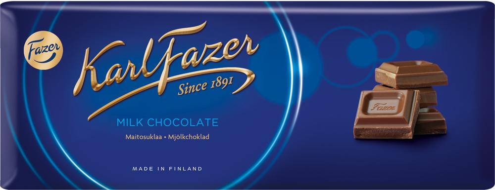 Karl Fazer молочный шоколад , 200 г5721Молочный шоколад Karl Fazer изготовлен из свежего молока и ингредиентов самого высокого качества. Это позволяет создавать особый вкус молочного шоколада, который ценится во многих странах мира. Очень вкусное и нежное лакомство, которое понравится всей вашей семье.