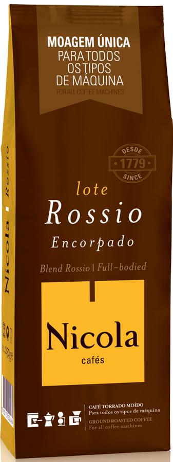 Nikola Rossio кофе молотый, 250 г nikola tesla collector bobblehead