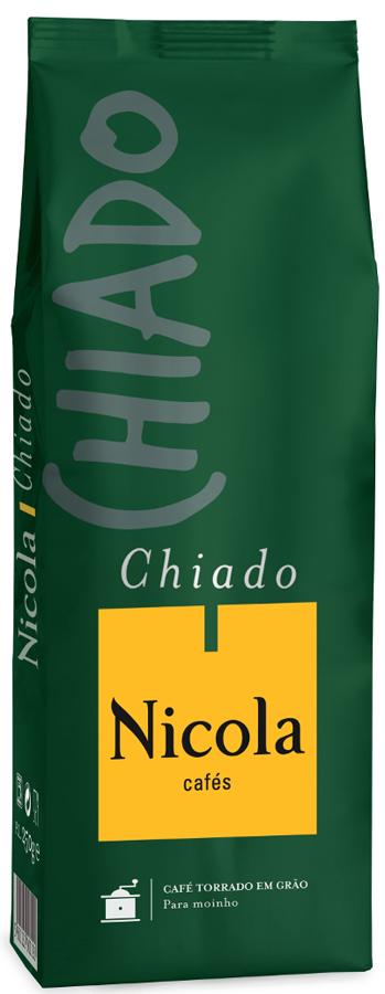 Nikola Chiado кофе в зернах, 1 кг5601132104014Смесь кофейных зерен из разных континентов, отличающихся необычайной нежностью вкуса.
