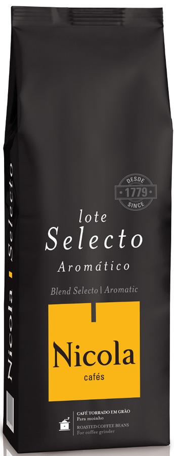 Nikola Selecto кофе в зернах, 1 кг кофе молотый nicola selecto
