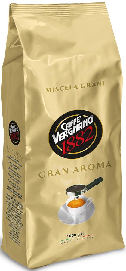 где купить Vergnano Gran aroma кофе в зернах, 1 кг по лучшей цене