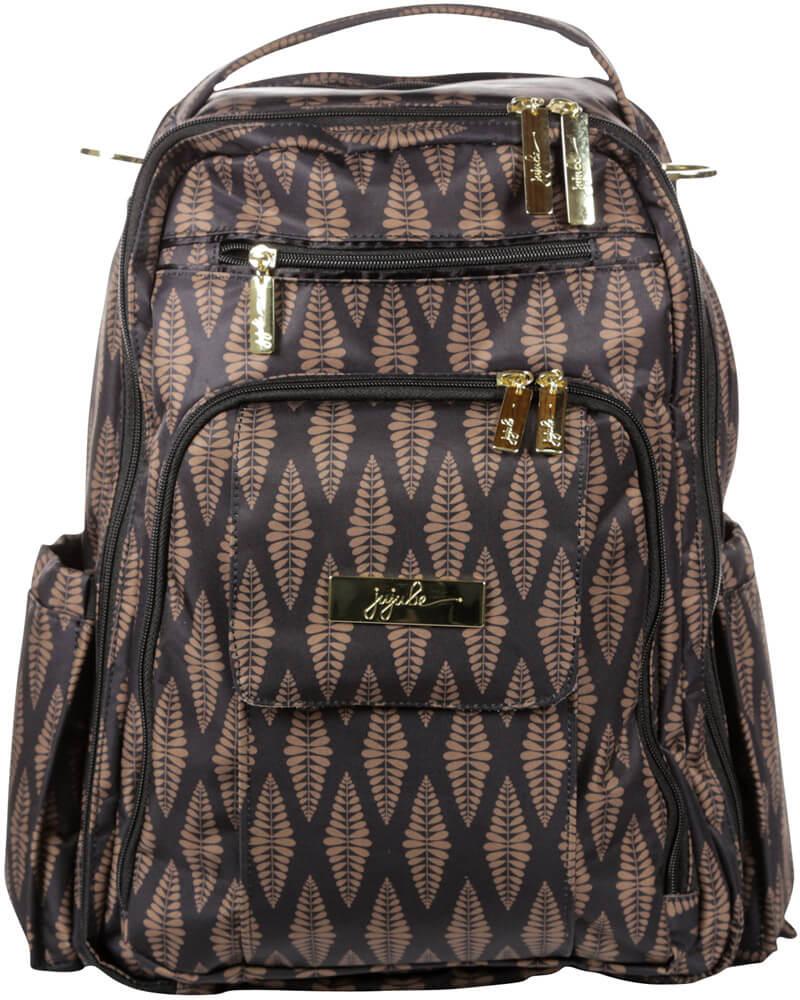 Ju-Ju-Be Рюкзак для мамы Be Right Back цвет коричневый черный 14BP01L-9526 сумка для мамы ju ju be be light onyx black beauty