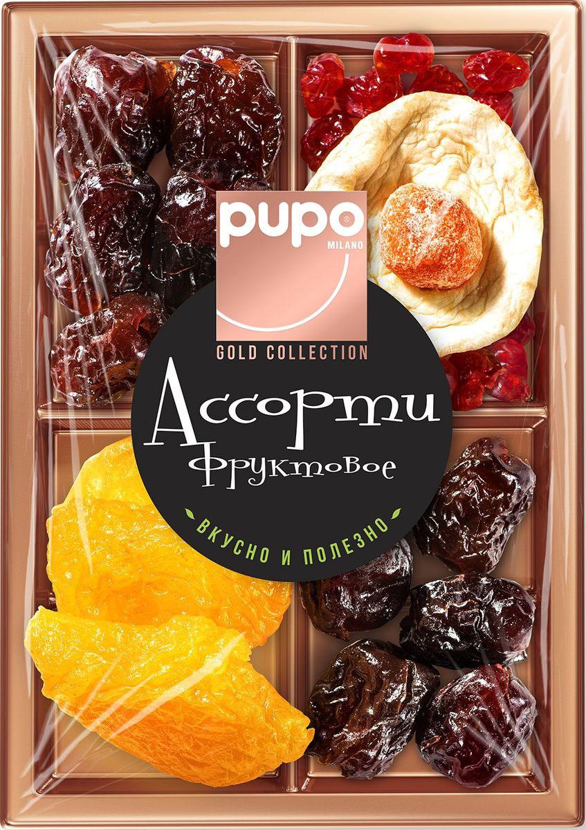 Pupo Gold Collection фруктовое ассорти финики, груша, яблоко, 230 г gold fish горбуша 245 г