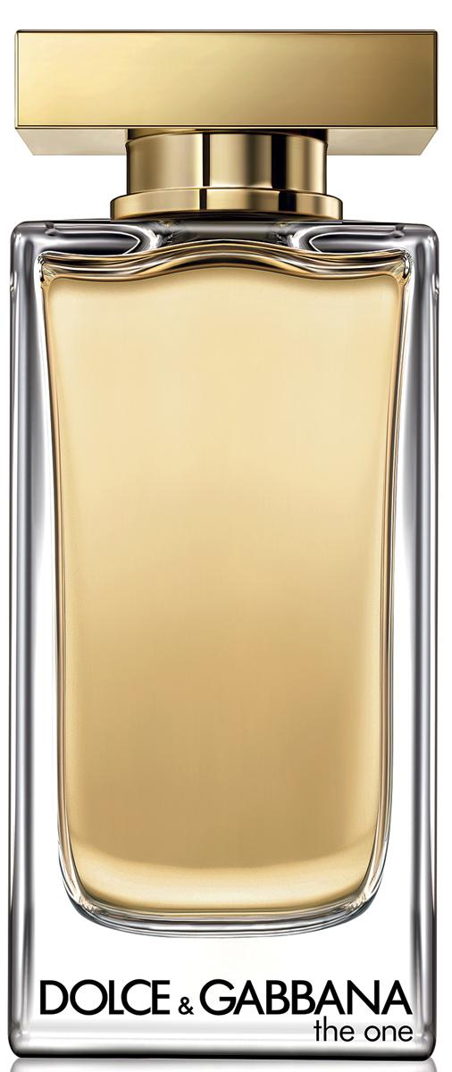 Dolce&Gabbana The One Туалетная вода, 100 мл65116396Глубокий и роскошный аромат, созданием которого Доминико Долче и Стефано Габбана отдали дань откровенному соблазну и женственности.