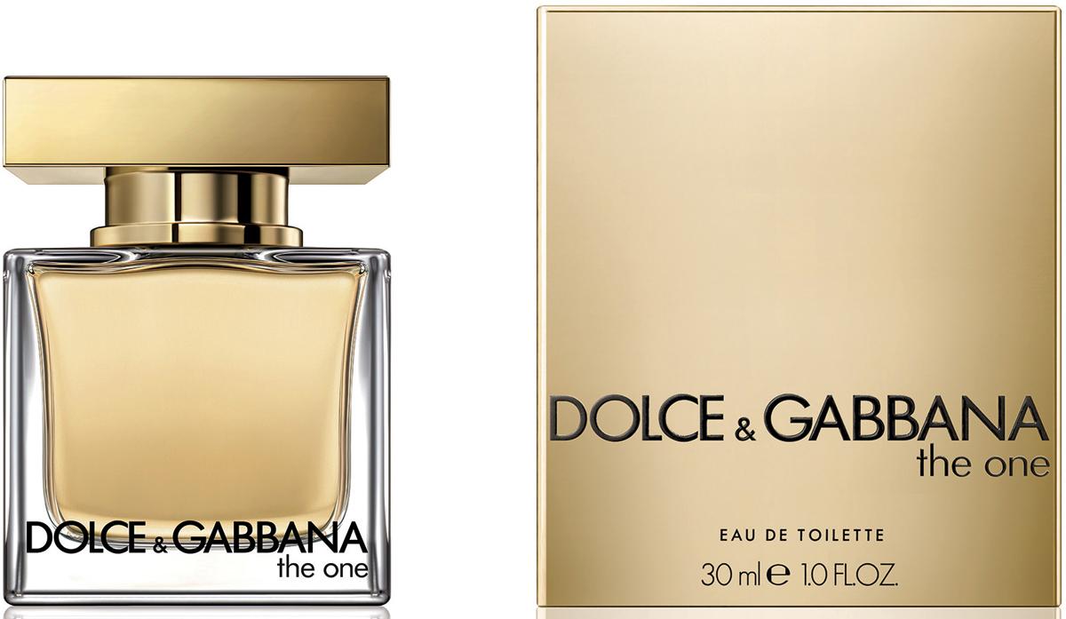 Dolce&Gabbana The One Туалетная вода, 30 мл3036285DGГлубокий и роскошный аромат, созданием которого Доминико Долче и Стефано Габбана отдали дань откровенному соблазну и женственности.
