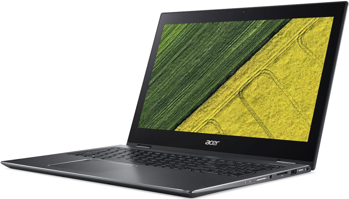 Acer Spin 5 SP515-51GN-581E, IronSP515-51GN-581EБлагодаря чистому и минималистичному профилю дизайн ноутбука Acer Spin 5 всегда будет актуальным и стильным.Наслаждайтесь универсальностью этого устройства и приковывайте взгляды благодаря его стильному дизайну.Надежный механизм крепления Acer с возможностью поворота экрана на 360° обеспечивает четыре удобных режима работы Spin 5 с тонким и прочным корпусом.Воспользуйтесь преимуществами и удобством ноутбука с повышенной производительностью вычислений и усовершенствованными аудио- и графическими технологиями.Процессоры Intel и графические платы NVIDIA обеспечивают более быструю и плавную работу приложений.Технологии Acer TrueHarmony и Smart Amplification в сочетании с Dolby Audio Premium обеспечивают оптимальное качество звука.Гладкая металлическая крышка и полированные грани делают этот ноутбук стильным компаньоном для работы и развлечений.Благодаря продуманному расположению антенны Acer ExoAmp обеспечивается надежный сигнал Wi-Fi-соединения.Точные характеристики зависят от модели.Ноутбук сертифицирован EAC и имеет русифицированную клавиатуру и Руководство пользователя