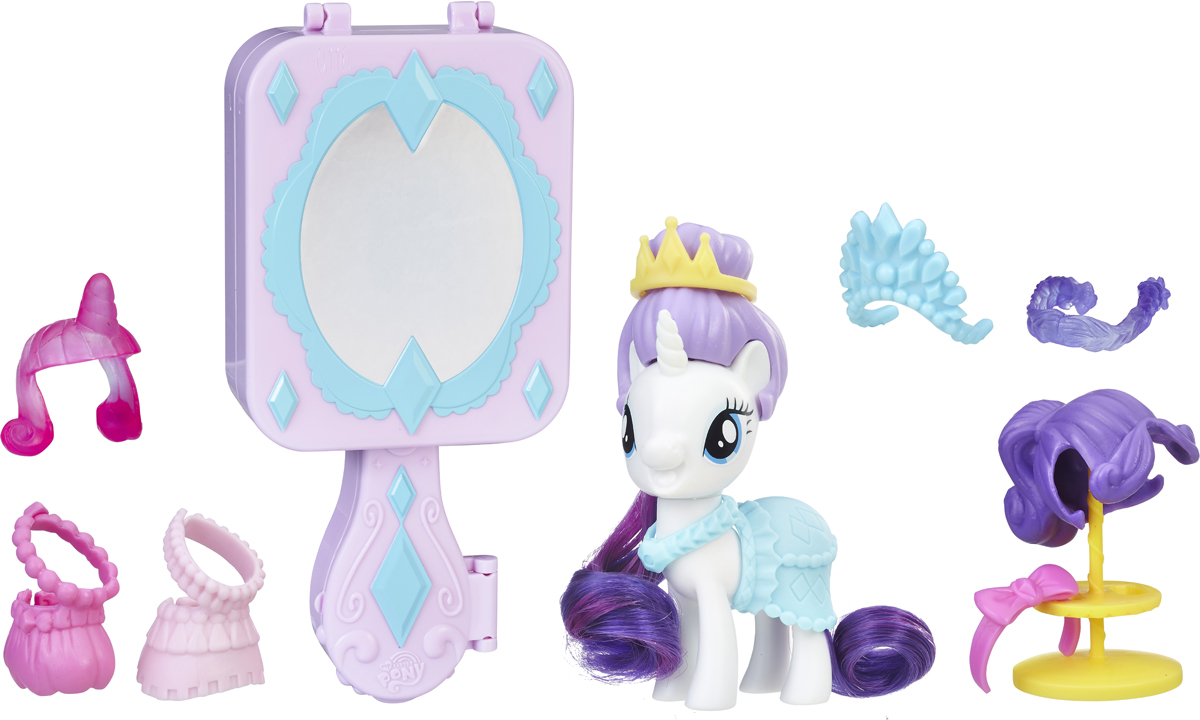 My Little Pony Игровой набор Пони Возьми с собой пони модница рарити