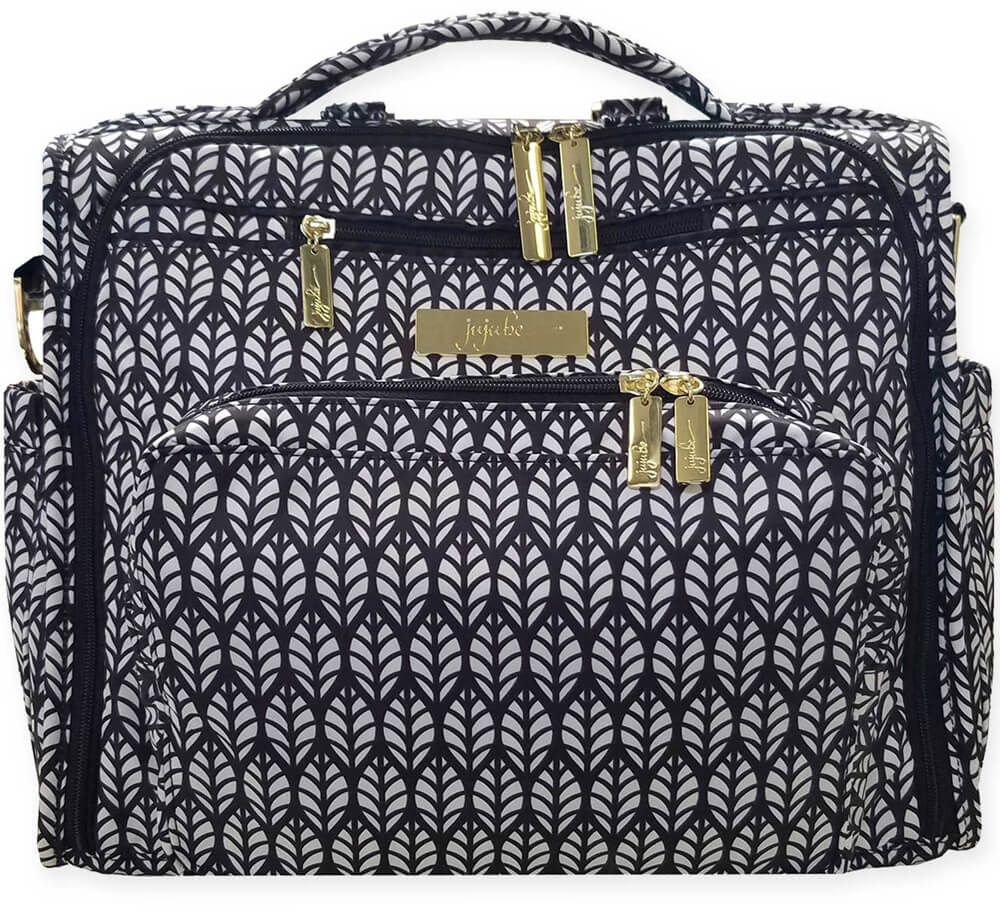 Ju-Ju-Be Сумка-рюкзак для мамы B.F.F. цвет черный белый 13FM02L-9007 -  Сумки для мам