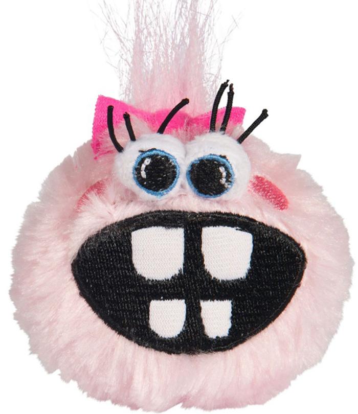 Мяч для собак Rogz Fluffy Grinz. Зубы, цвет: розовый, диаметр 4,9 смCGR201XОсобо мягкие, плюшевые мячи.Для животных, которые любят играть в «Поймай-принеси» - это просто мечта.Небольшой вес изделия.Не травмирует зубы и десна.Удобен для переноски животным.Внутри игрушки – пищалка, что поддерживает интерес животного к игре.