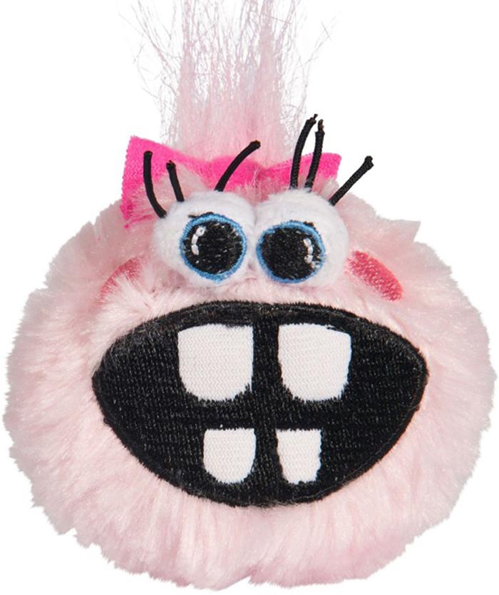 Мяч для собак Rogz Fluffy Grinz. Зубы, цвет: розовый, диаметр 6,4 смCGR203XОсобо мягкие, плюшевые мячи.Для животных, которые любят играть в «Поймай-принеси» - это просто мечта.Небольшой вес изделия.Не травмирует зубы и десна.Удобен для переноски животным.Внутри игрушки – пищалка, что поддерживает интерес животного к игре.