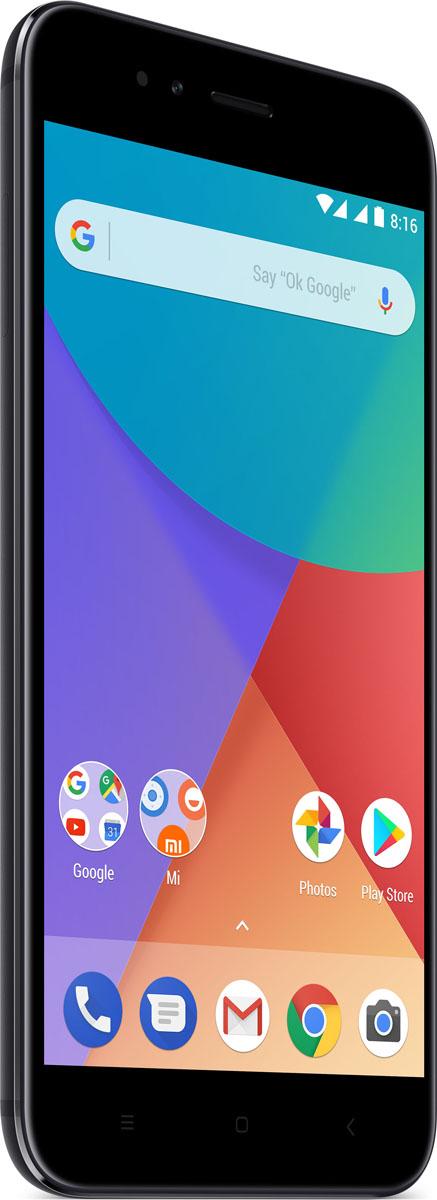 Xiaomi Mi A1 (32GB), BlackMi_A1_32GB_BlackXiaomi Mi A1 выглядит и ощущается так, будто он был создан специально для ваших рук. Толщина корпуса, выполненного из металла, составляет всего 7,3 мм.Двойная камера в Mi A1 - это больше, чем просто набор мощных функций. Делайте снимки, редактируйте, добавляйте фильтры. Сохраняйте фотографии и делитесь с друзьями. И все это одним нажатием.Емкостный сенсорный 5,5 экран типа LTPS характеризуется разрешением в 1080 x 1920 пикселей с плотностью пикселей 403 ppi. Невероятно долговечное стекло от Corning Gorilla Glass. Насыщенные цвета, широкий угол обзора, повышенная яркость и необычайная резкость изображения подарят незабываемые впечатления от просмотра мультимедийной информации. Усилитель с мощностью 10 Вт, в сочетании с усовершенствованным алгоритмом Dirac HD Sound, обеспечивает мощный звук и глубокие басы как для музыки, так и для телефонных звонков.Независимый аудиоусилитель поддерживает наушники с сопротивлением до 600 Ом.Телефон сертифицирован EAC и имеет русифицированный интерфейс меню и Руководство пользователя.
