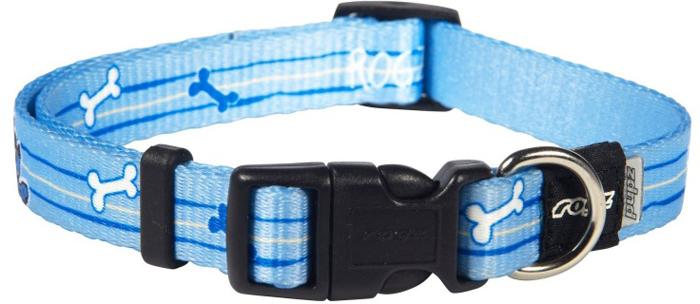 Ошейник для собак Rogz Yo Yo, цвет: голубой, ширина 1,6 см. Размер MHB212YОшейник для собак Rogzвыполнен из нейлона высокой прочности. Особое плетение полотна способствует увеличению уровня прочности и защиты. Специальная конструкция пряжки Rog Loc - очень крепкая (система Fort Knox). Замок может быть расстегнут только рукой человека. Технология распределения нагрузки позволяет снизить нагрузку на пряжки, изготовленные из титанового пластика, с помощью правильного и разумного расположения грузовых колец.