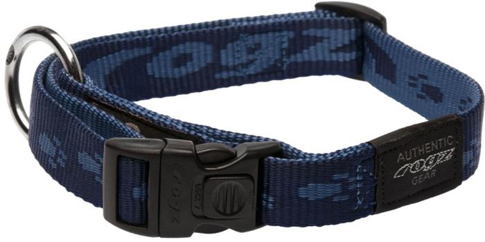 Ошейник для собак Rogz Alpinist, цвет: синий, ширина 2 см. Размер L полуудавка для собак rogz alpinist цвет золотистый ширина 6 см размер l